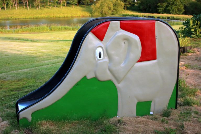 Foreside Acres Elephant Slide